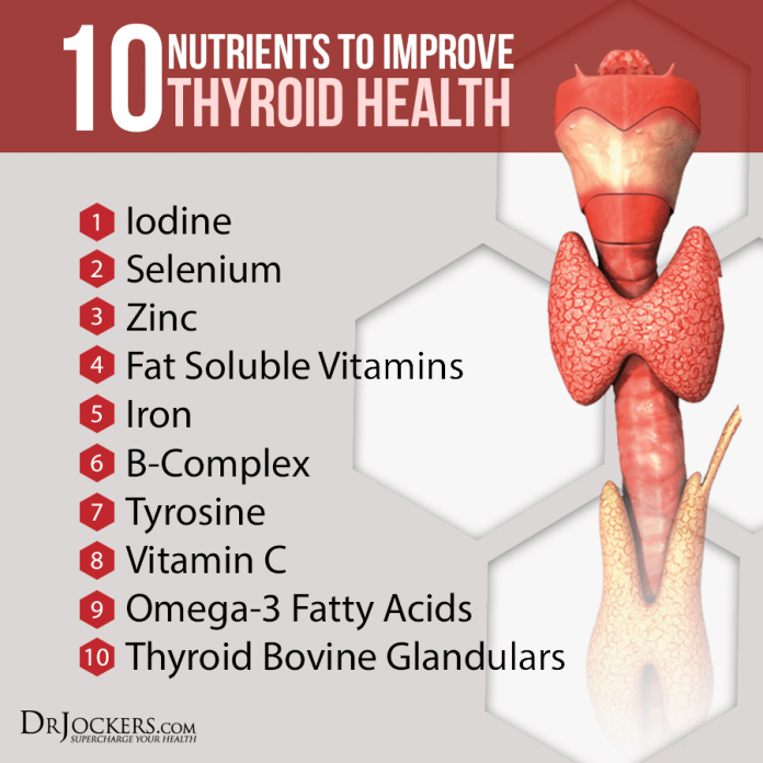 10 nutrients to improve thyroid function drjockers com